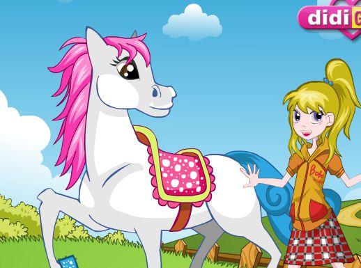 Pretty Girl Pretty Pony Game