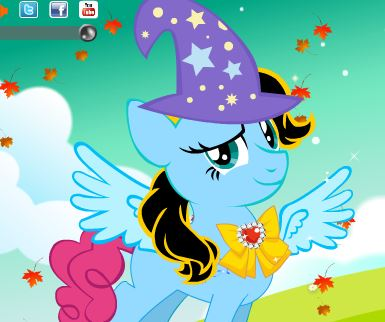 Pretty Little Pony Dress Up Game