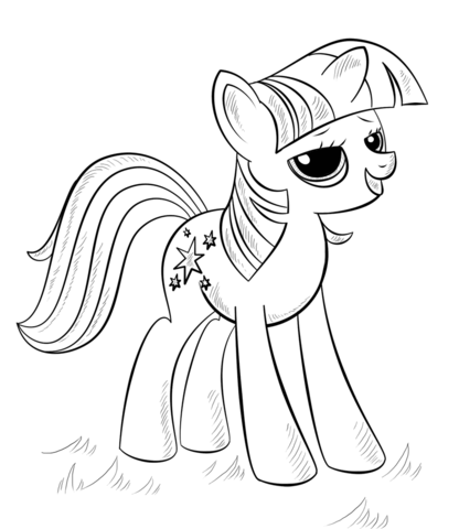 Princess Alicorn from My Little Pony Game