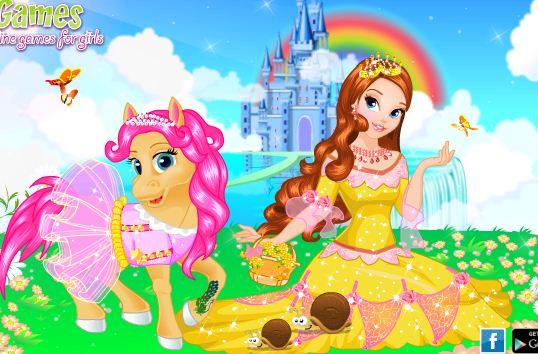 Princess And Her Pony Game
