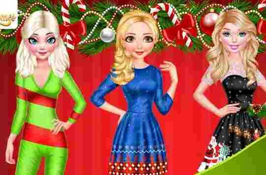 Princess Christmas Reunion Game