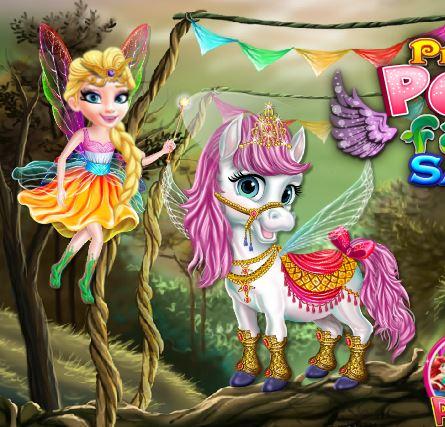 Princess Pony Fairy Salon Game
