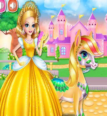 Princess Zaira And Pony Game