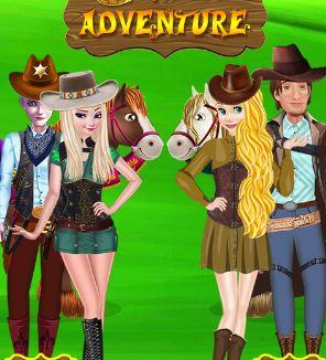 Princesses Cowboy Adventure Game