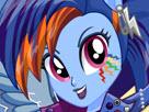 Rainbow Dash Rocking Hairstyle Game