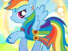 Rainbow Dash Super Style Game