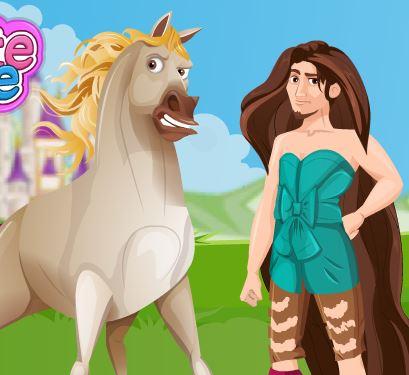 Rapunzel Leaving Flynn Game