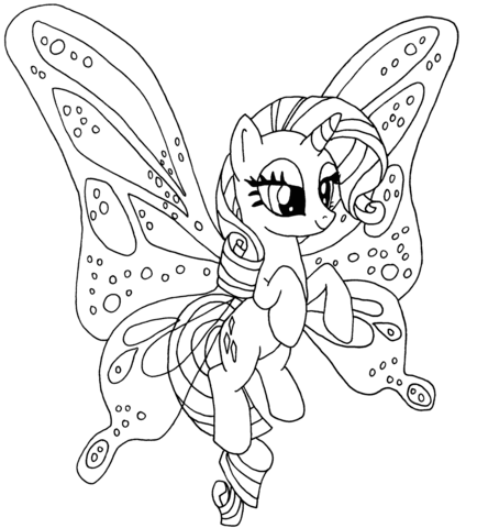 Rarity Pony from My Little Pony Game