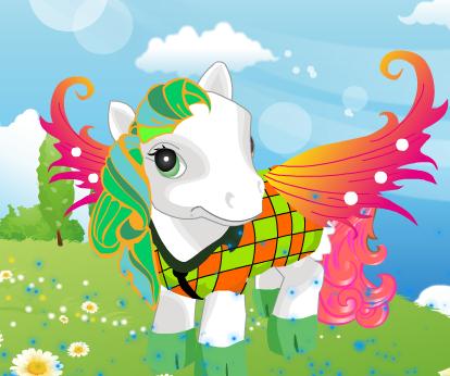 Royal Pony Dress Up Game