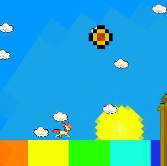 Run The Rainbow Game