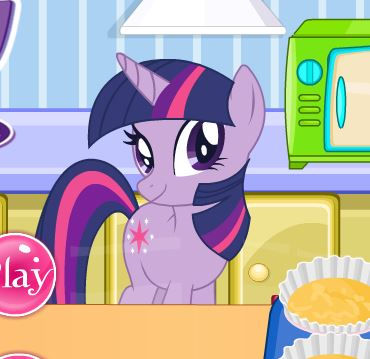 Sparkle Cooking Cupcakes Game