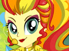 Sunset Shimmer Rainbooms Style Game
