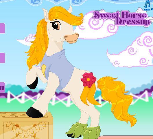 Sweet Horse Dressup Game