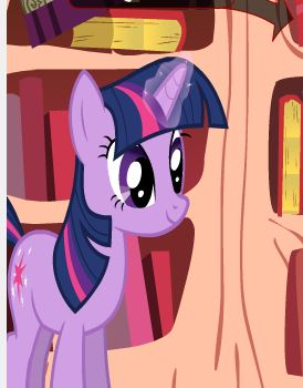 Twilight Sparkle Book Sorting Game