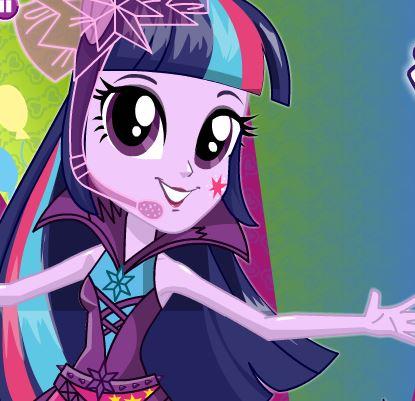 Twilight Sparkle Rainbooms Style Game