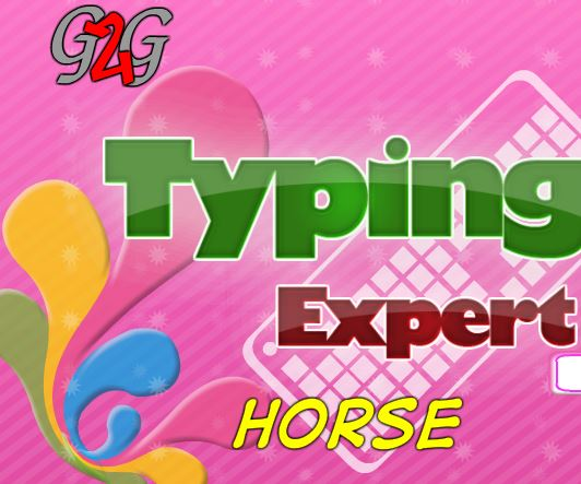 Typing Expert Horse Game