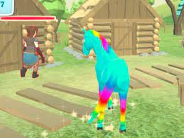 Unicorn Family Simulator Game
