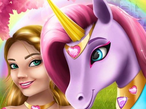 Unicorn Fashion Dress Up Girls Game