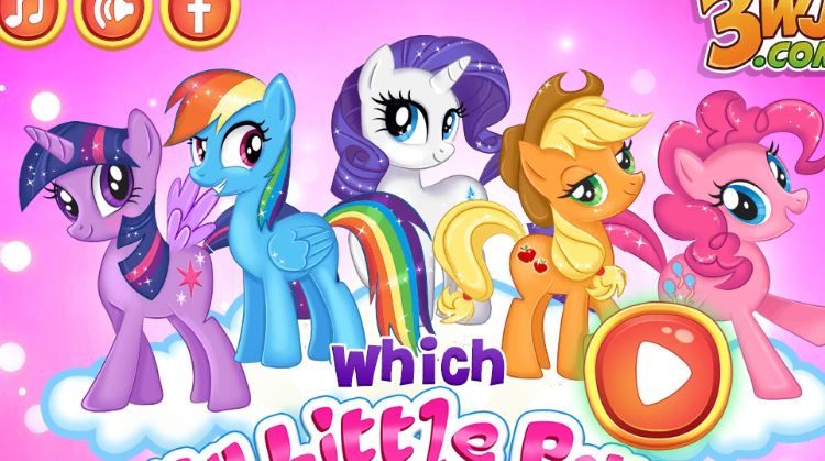 Which My Little Pony Are You Game