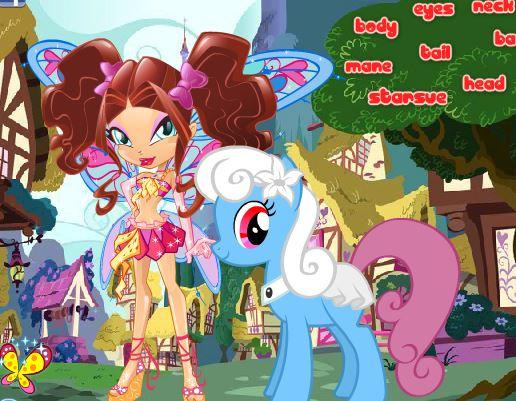 Winx Pony Game