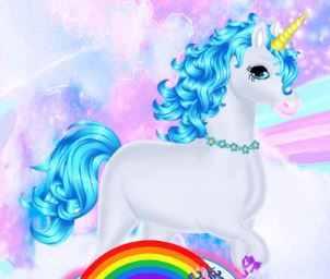Dress Up Unicorn Game
